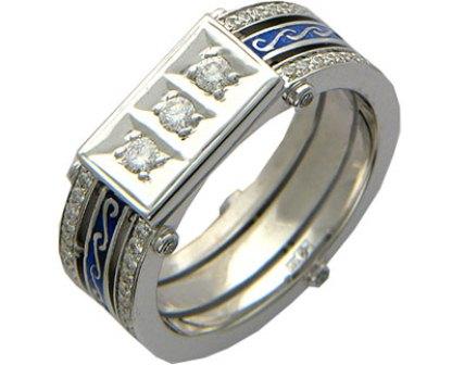 Мужское кольцо Н4033