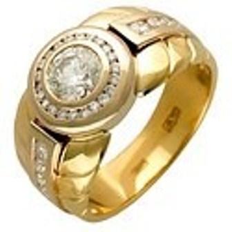 Мужское кольцо Н4038