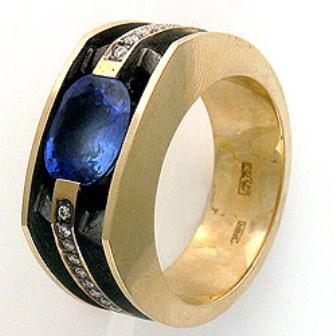 Мужское кольцо Н4041
