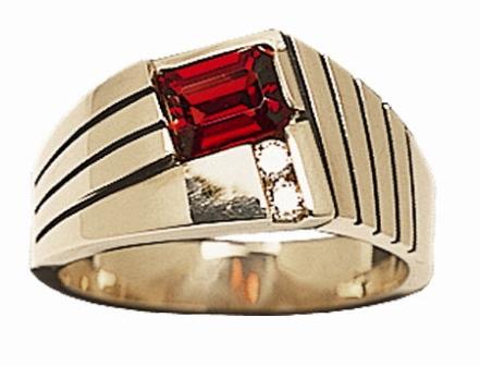 Мужское кольцо Н4051