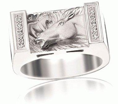 Мужское кольцо Н4053