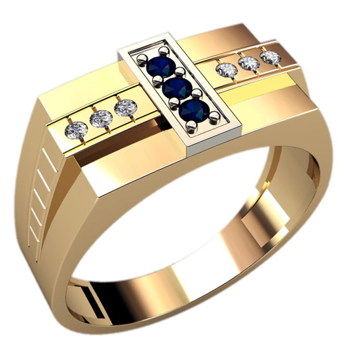 Мужское кольцо Н4119