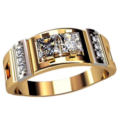 Мужское кольцо Н4127