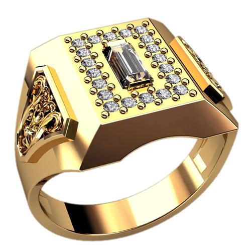 Мужское кольцо Н4132