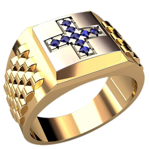 Мужское кольцо Н4133