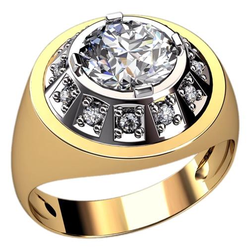 Мужское кольцо Н4135
