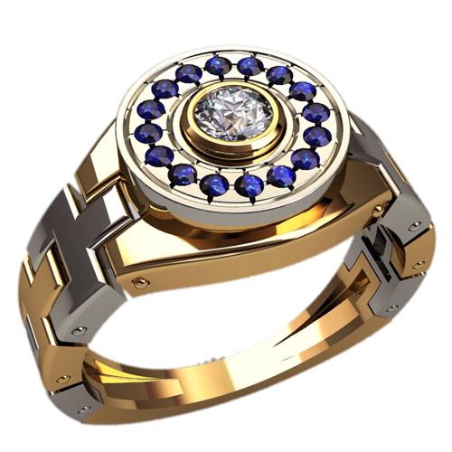 Мужское кольцо Н4141