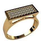 Мужское кольцо 3026