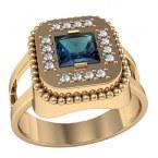 Мужское кольцо 3068