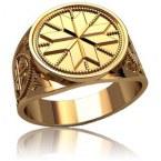 Мужское кольцо 3130