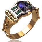Мужское кольцо 3147