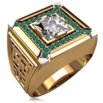 Мужское кольцо 3152