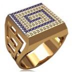 Мужское кольцо 3154