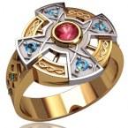Мужское кольцо 3162