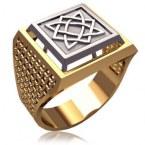 Мужское кольцо 3166