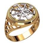 Мужское кольцо 3207