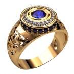 Мужское кольцо 3213