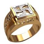 Мужское кольцо 3216