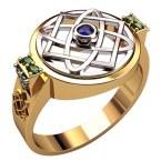Мужское кольцо 3217