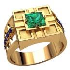 Мужское кольцо 3219