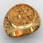 Мужское кольцо КМ-483