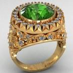 Мужское кольцо КМ-484
