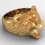 Мужское кольцо КМ-485