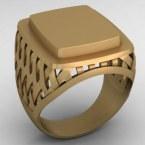 Мужское кольцо КМ-487