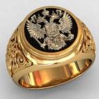 Мужское кольцо КМ-488