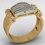 Мужское кольцо КМ-491