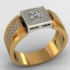 Мужское кольцо КМ-492