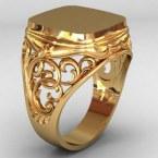 Мужское кольцо КМ-493