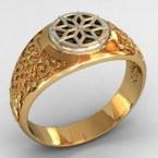 Мужское кольцо КМ-496