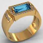 Мужское кольцо КМ-497