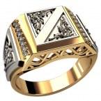 Мужское кольцо Н4126