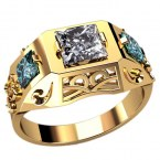 Мужское кольцо Н4130