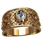 Мужское кольцо Н4143